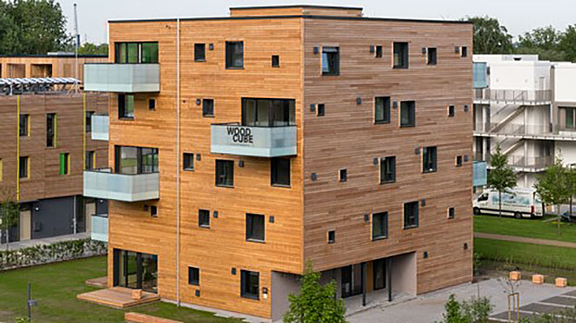 Фото деревянный жилой дом 36